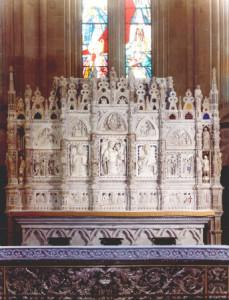 altare duomo arezzo